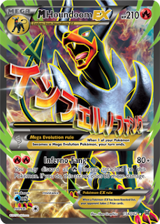 M Houndoom EX BREAKthrough Pokemon Card