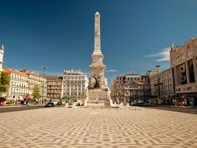 Plaza Restauradores, Lisboa