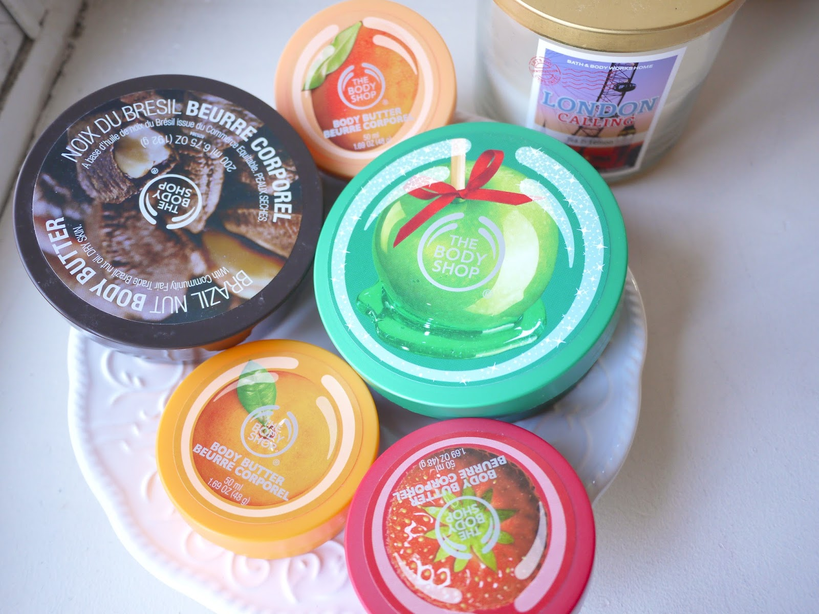 Favorite Body Shop Body Butters