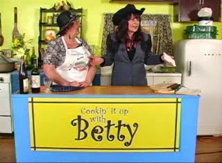 KLUK TV reporter Prairie Ann joins Betty on Cooking it up with Betty