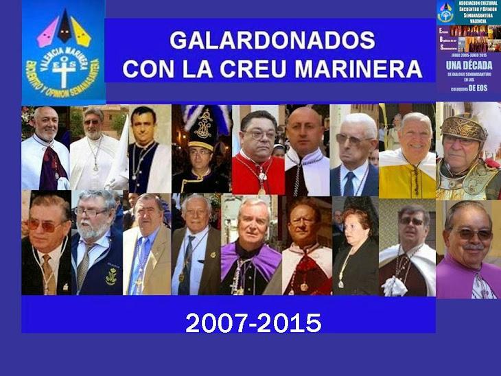 GALARDONADOS CREU MARINERA
