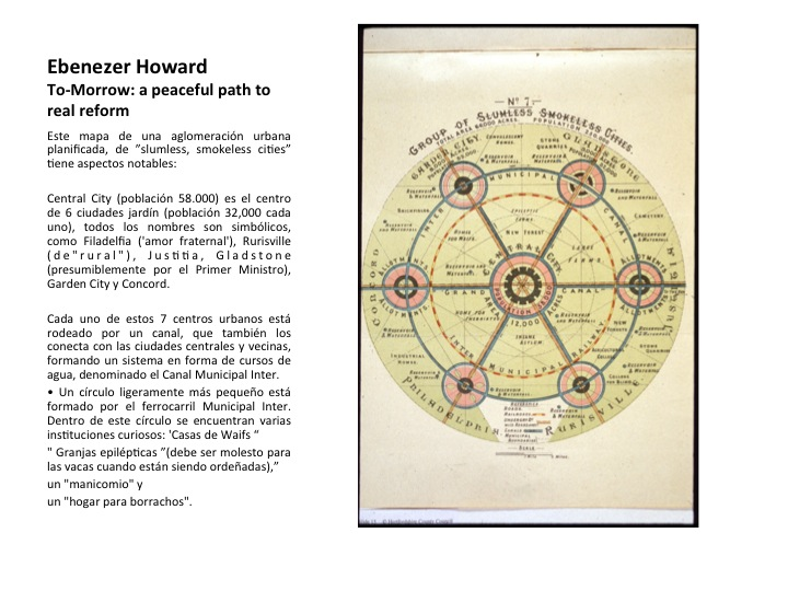 ebenezer howard essay The garden city movement is a method of urban planning in which self-contained communities are surrounded the legacy of ebenezer howard, chichester: john wiley.