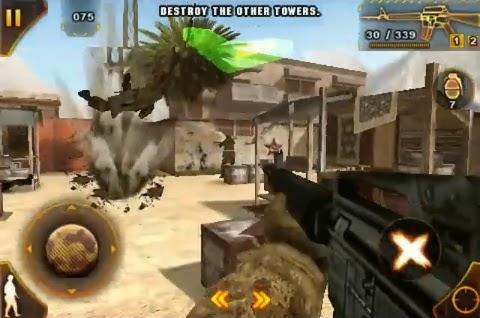Modern Combat Sandstorm - 240x320 Ou + ~ AndroidVip
