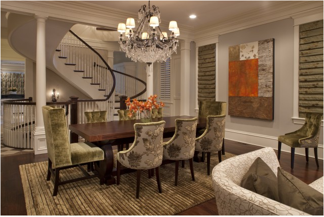 Traditional dining room design ideas simple home for Pictures of dining room designs