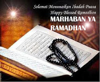MARHABAN YA RAMADHAN | CONTOH SMS PANTUN RAMADHAN