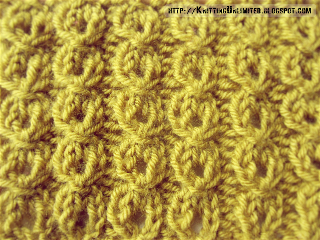 Mock Cable Ribbing Stitch Knitting Unlimited