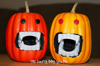 How to Make a Vampire Pumpkin