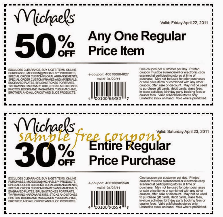 Michaels discount coupon
