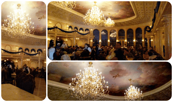 Be Our Guest Restaurant Grand Ballroom Magic Kingdom Walt Disney World