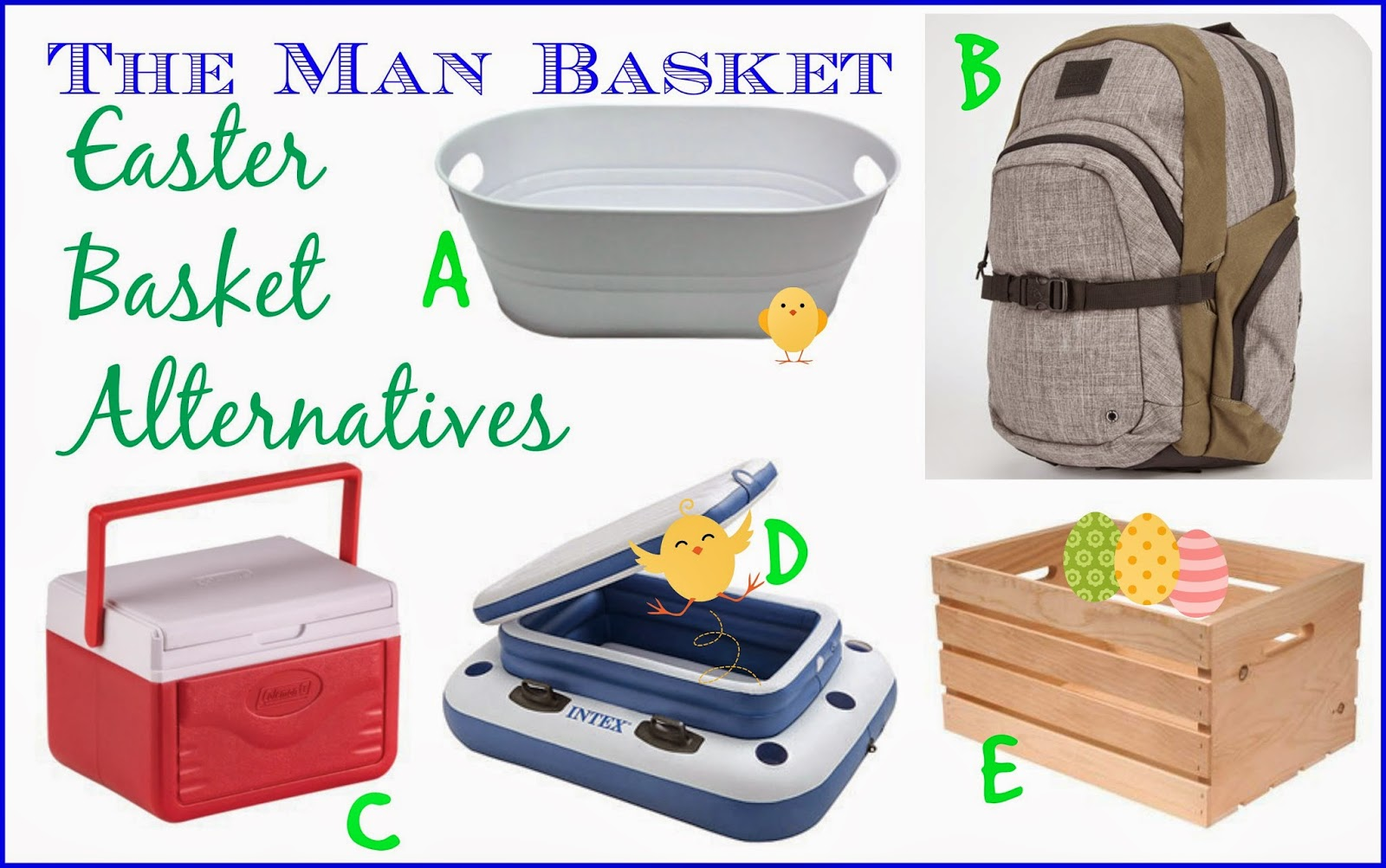 Easter basket alternatives for your man its the new twenty easter basket alternatives for your man negle Choice Image