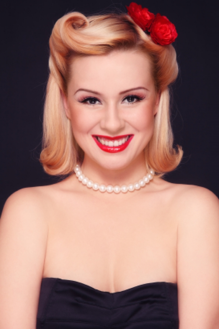 Pin Up Hairstyles for Short Hair | Trends Hairstyles Photos