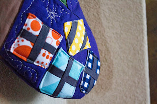 The Berry Bunch: Modern Quilt Guild Riley Blake Fabric Challenge: Tucson MQG Stocking Holiday Gift Exchange