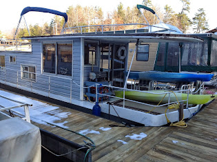 My Lake James Houseboat