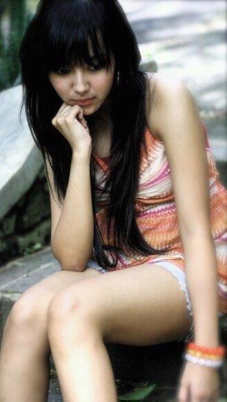 Paha Mulus Gadis Jepang Montok