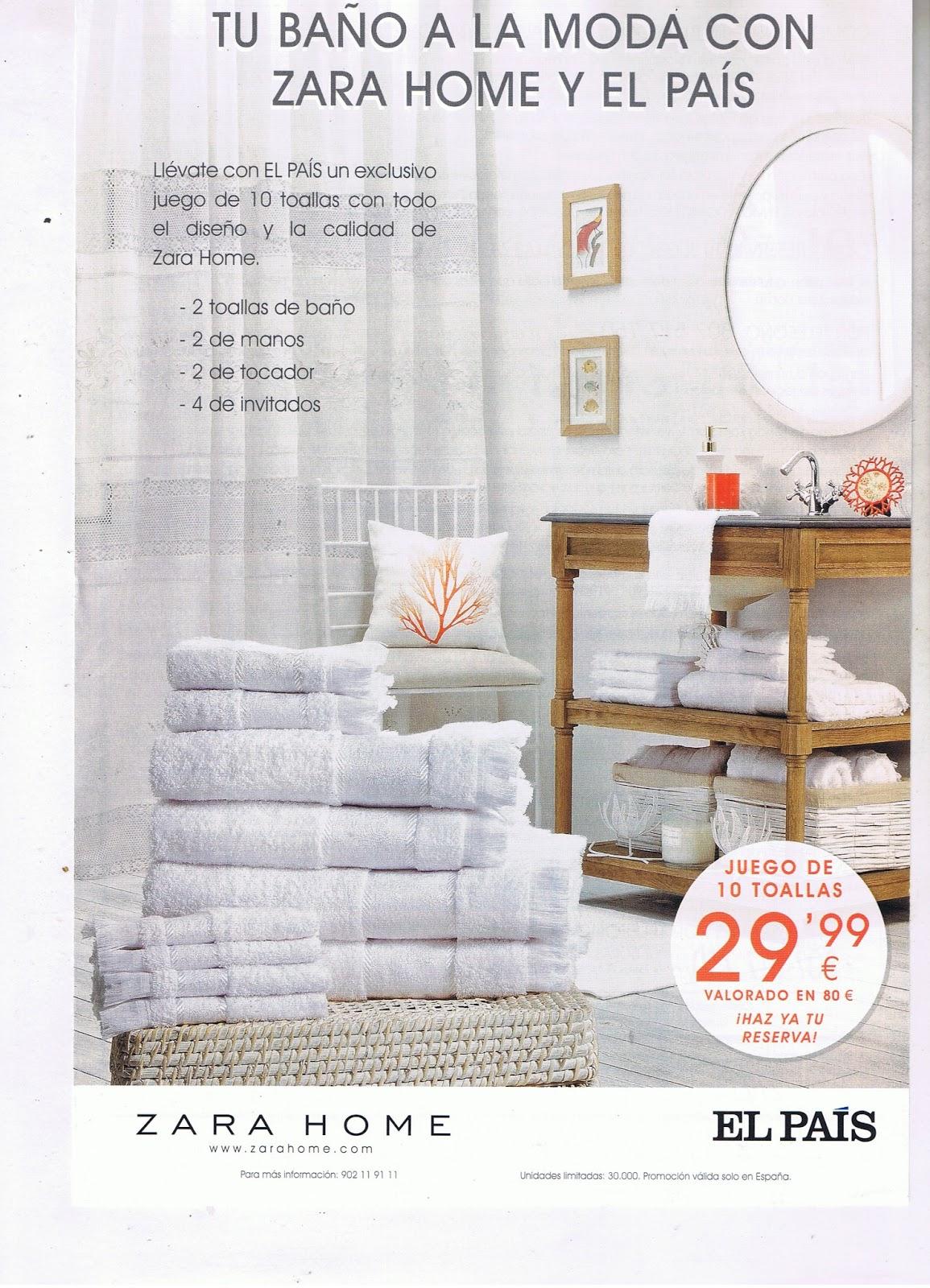 Vendedores de prensa y revistas ciudad de sevilla for Zara home toallas bano