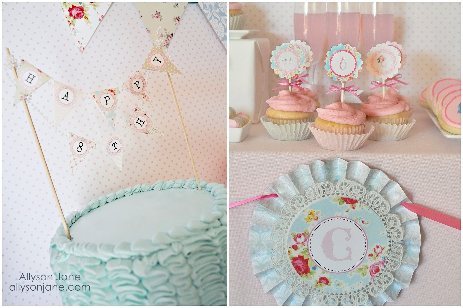 Shabby Chic Pajama Party | Creative Party Place