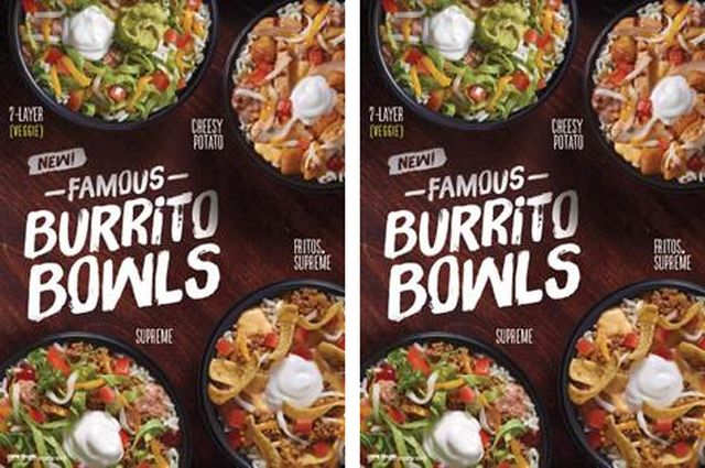taco bell testing new quotfamousquot burrito bowls brand eating