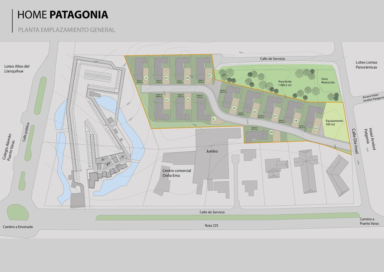 Desarrollo de master plan para urbanizaci n home patagonia for Plan de arquitectura