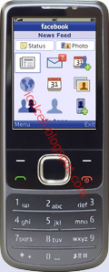 Facebook For Mobile (Facebook Untuk Seluler/Nokia