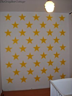 jak zrobić gwiazdki na ścianie