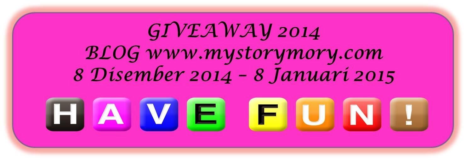"""Giveaway 2014 Bersama MyStoryMory.com"""