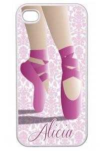 iphone cover with toe shoes illustration