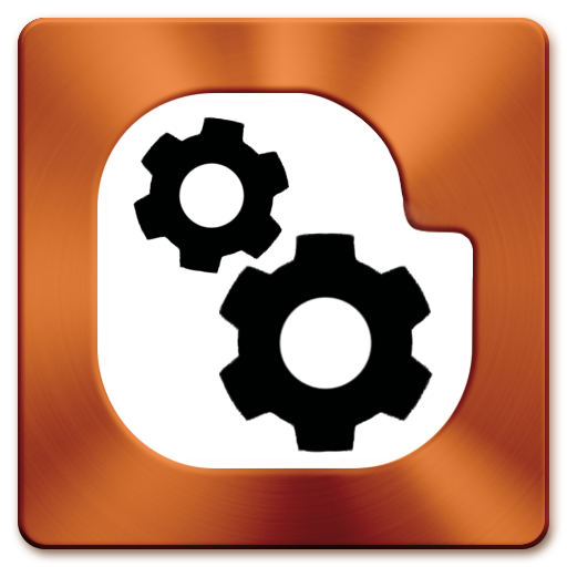 Blogger gears logo