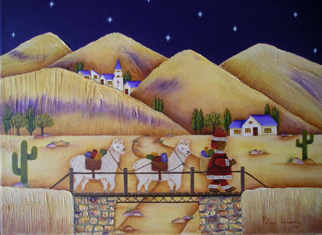 Estilo Naif Decoracion ~ Cuadros estilo naif pintados en acr?lico sobre bastidores de 30x40cm