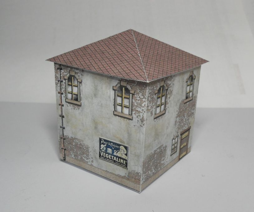 Ferbs Fighting Forces Papercraft Buildings Terrain