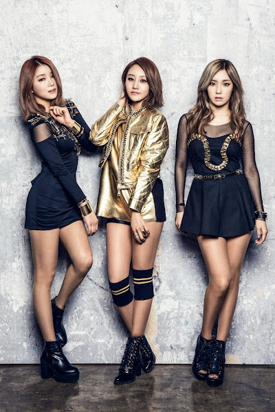 A.KOR's Taehee, Jiyoung and Daya in bnt International March 2015