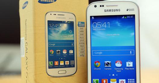 Test Du Samsung Galaxy S Duos 2