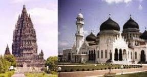 Perpaduan Tradisi Lokal, Hindu Buddha dan Islam