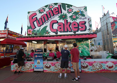 funnel cake and the O.C. fair