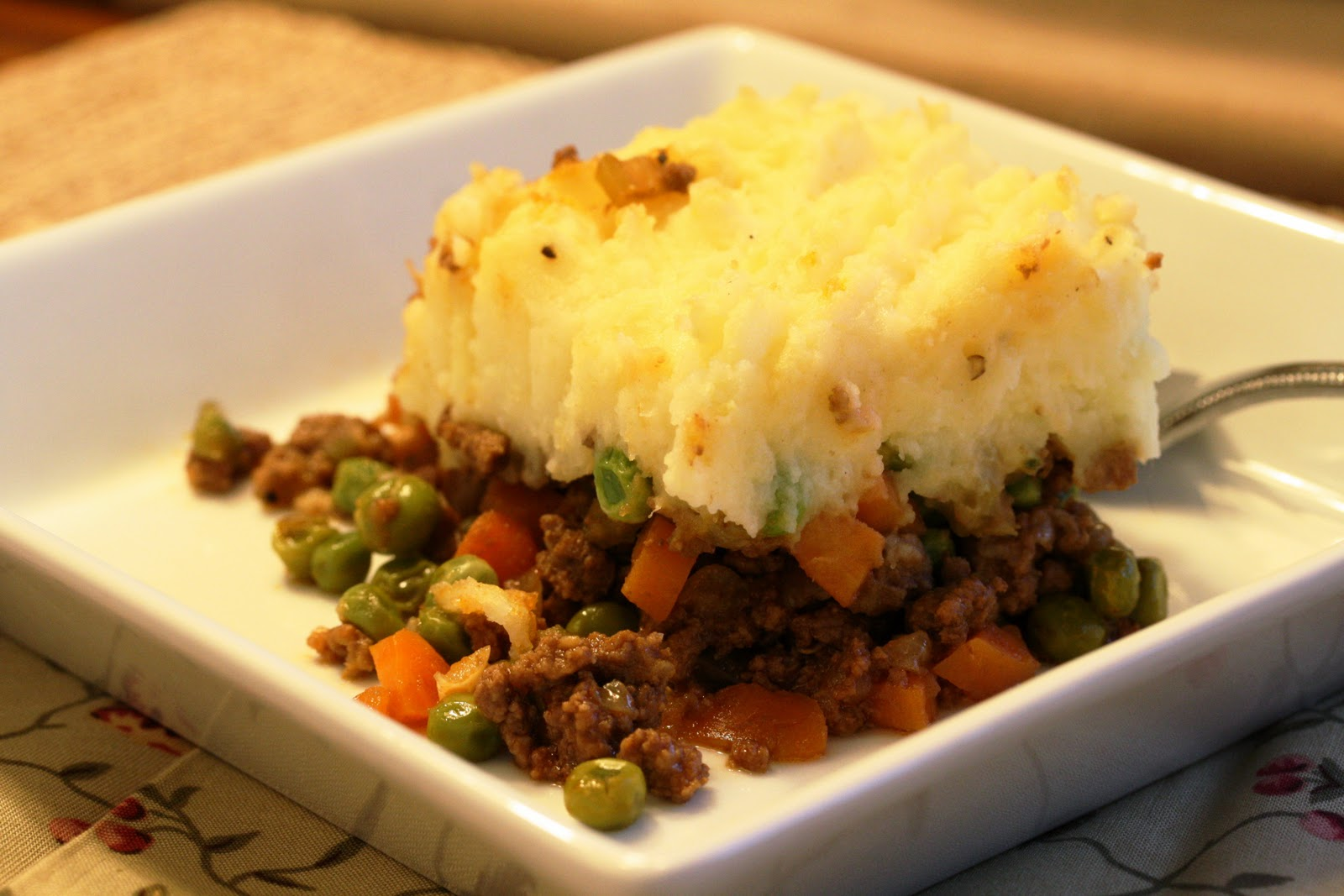 Traditional Cottage Pie - Saving Room for Dessert