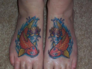 japanese cute koi tattoos
