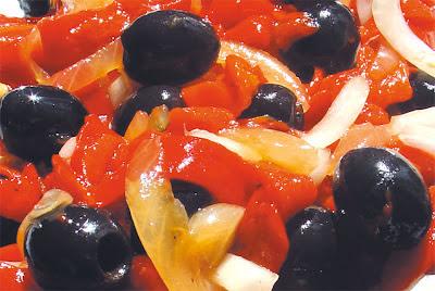 ensalada de pimientos