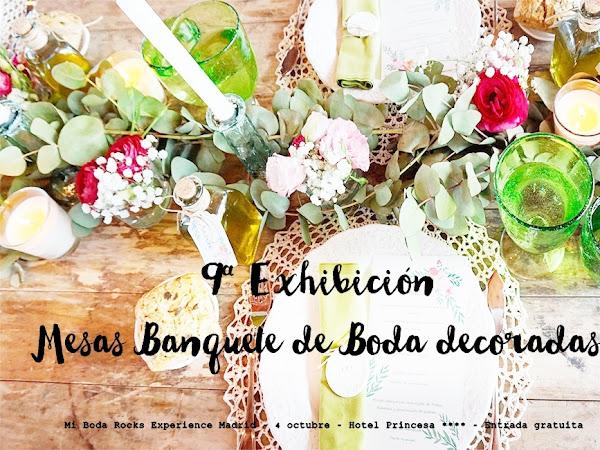 Exhibición Mesas Banquete de Boda - Madrid