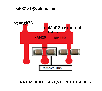 raj mobile care   nokia 112 test mode solution