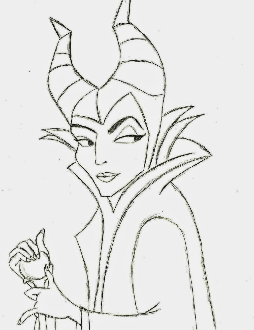 disney movie princesses maleficent free printable coloring pages