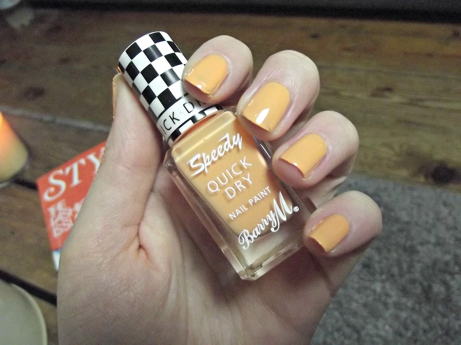 Barry M Speedy Nail Paint Full Throttle