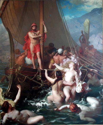 odysseus sirens belly