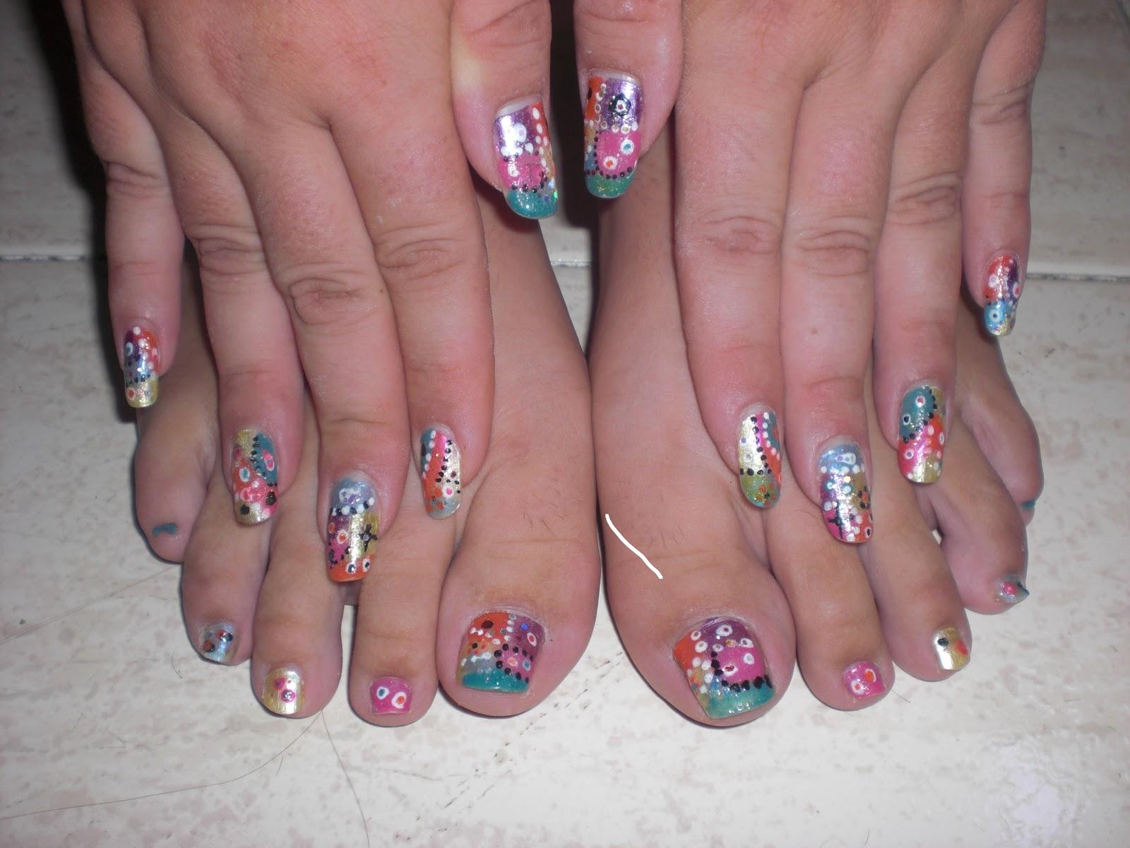Unas para los pies related keywords unas para los pies - U as decoradas ...