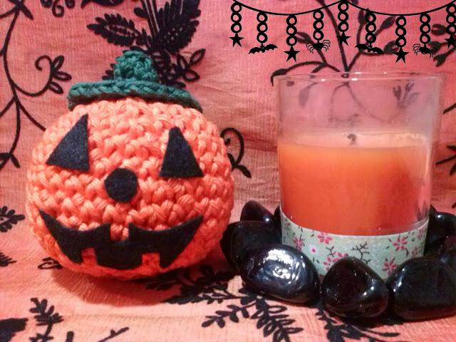 calabaza amigurumi halloween