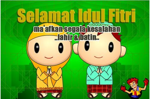 Free Download Kartu Lebaran 2012 Hari Raya Idul Fitri 1433 H Rocket
