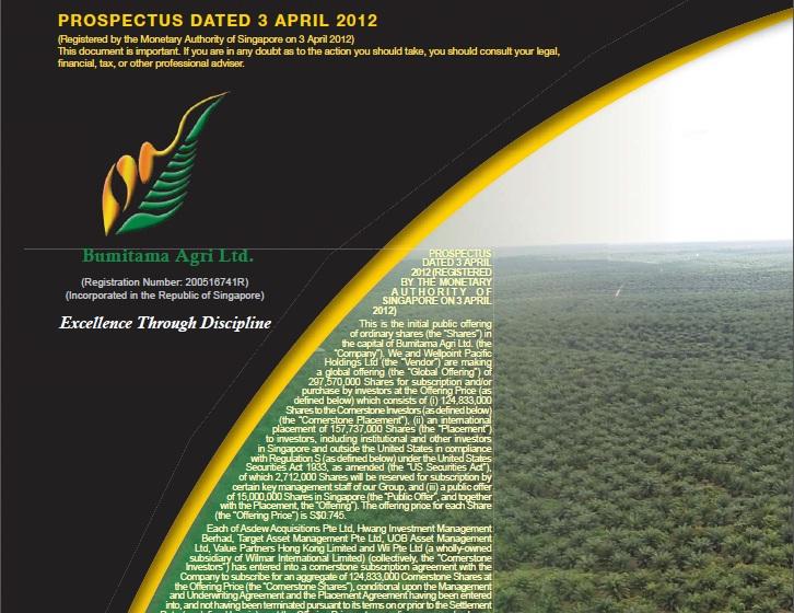 Quick Profit: BUMITAMA Agri IPO | K.I.S.S. Investing