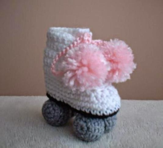 All Free Crochet Baby Booties Patterns : Recycling Arts and Crafts: Crochet Baby Booties