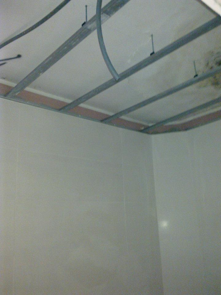 Build constru o trabalhos de pladur tectos falsos for Montar pared de pladur