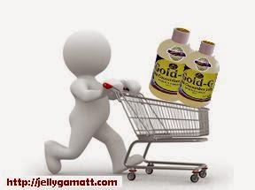 Cara Pembelian Jelly Gamat Gold-G