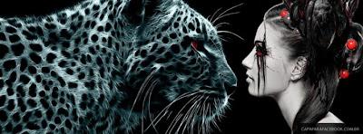 Capa para o Facebook Tigre