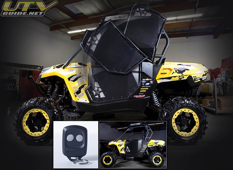 Side X Side Suicide VERTICAL DOORS with Wireless Remote & Side X Side Suicide VERTICAL DOORS with Wireless Remote - UTV Guide